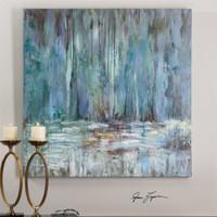 Uttermost Blue Waterfall Art