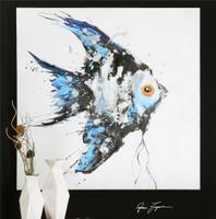 Uttermost Blue Angel Ocean Art