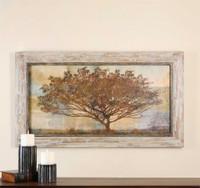 Uttermost Autumn Radiance Sepia Framed Art