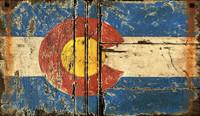 Colorado Flag Sign