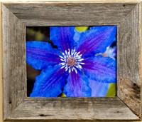 4x6 Barnwood Picture Frame, Medium Width 2.5 inch Aspen Series