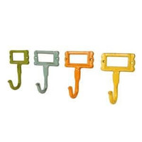 Colorful Metal Hooks-Set of 4