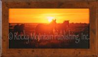 In At Sunset - Framed Western Art - Dan Ballard Framed Giclee