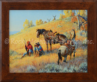 Glad I Hired This Guide - Clark Kelley Price Framed Giclee