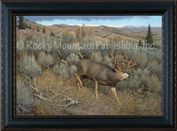 Sagebrush Escape - Hayden Lambson Wildlife Art Giclee