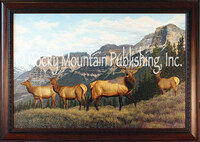 Mountain Magic - Manuel Mansanarez Wildlife Art Giclee