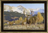 Autumn Alert - Manuel Mansanarez Wildlife Art Giclee