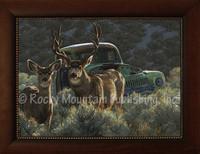 Reclamation - Greg Beecham Framed Giclee - Wildlife Art