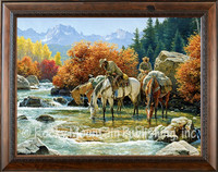 Souls Unwound - Clark Kelly Price Framed Western Art Giclee