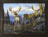Tom Mansanarez Framed Wildlife Art Giclee