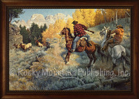 Right Place, Right Time - Western Cowboy Art by Clark Kelley Price