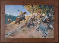 Elk Omelette - Western Art Giclee - Clark Kelley Price