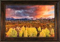 Serenity - Dan Ballard Framed Giclee - Autumn Landscape Print