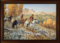 Now Ya Show - Western Art Giclee - Clark Kelley Price