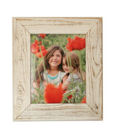 Antique White Reclaimed Wood Frame, 8x10