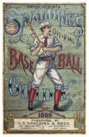 Vintage Baseball Guide Sign