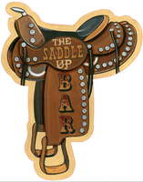 Custom Vintage Saddle Sign