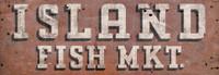 Vintage Fish Market Sign