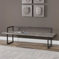 Uttermost Herbert Reclaimed Wood Bench