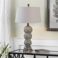Uttermost Amelia Textured Ceramic Lamp