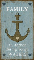 Vintage Anchor Sign