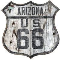 Vintage Arizona Route 66 Sign
