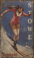 Classic Ski Vintage Sign