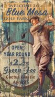 Vintage Golf Mesa Sign