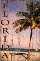 Vintage Florida Palm Sign