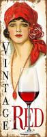 Vintage Miss Red Sign