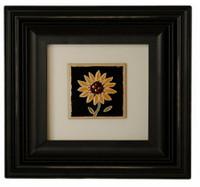 6X6 Square Black Picture frame