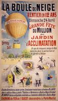 Vintage LaBoule Festival Sign