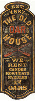 Vintage Oar House Sign