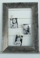 Clothespin Picture Frame Photo Display