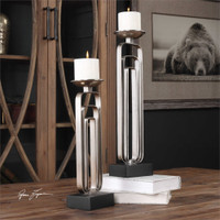 Uttermost Cosme Candleholders S/2