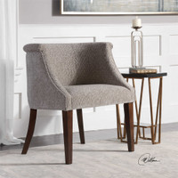 Uttermost Arthure Barrel Back Accent Chair