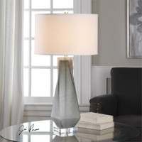 Uttermost Anatoli Charcoal Gray Table Lamp