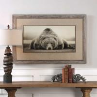 Uttermost Deep Sleep Bear Print