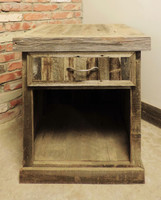Reclaimed Wood Nightstand