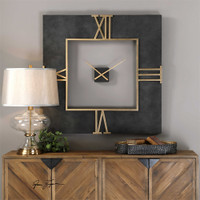 Uttermost Mudita Square Wall Clock