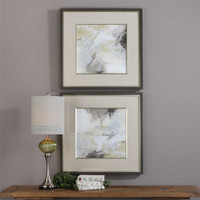 Uttermost Abstract Vistas Framed Prints S/2