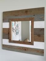 Rustic Slat Mirror
