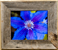 9x12, Barn Wood Frame, Medium Width 2.5 inch Aspen Series