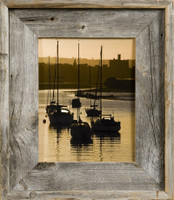 8x12 Rustic Picture Frame, Medium Width 2.75 inch Lighthouse Series