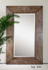 Uttermost Langford Large Wood Mirror