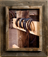 9x12 Western Picture Frames - Western Rustic Narrow Width 2.25 inch