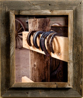 8x12 Western Picture Frames - Western Rustic Narrow Width 2.25 inch