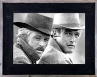 12x18 Western Picture Frames, 3 inch Wide, Butch Cassidy Frame