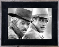 8x16 Western Picture Frame, 3 inch Wide, Butch Cassidy Frame