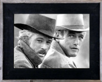 11x14 Western Picture Frame, 3 inch Wide, Butch Cassidy Frame
